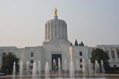 Construção do Capitólio do estado, Salem, Oregon Imagens de Stock Royalty Free
