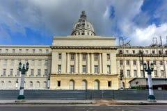 Construção do capital nacional - Havana, Cuba fotos de stock royalty free