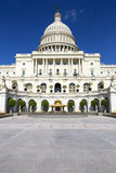 A construção do capitol em Washington imagem de stock