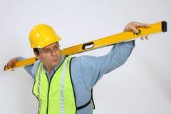 Construção do carpinteiro imagem de stock