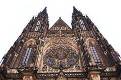 Construção do castelo de Praga Fotografia de Stock