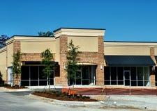Construção do centro comercial fotografia de stock royalty free