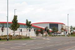 Construção do centro de chamada de Vodafone Fotografia de Stock