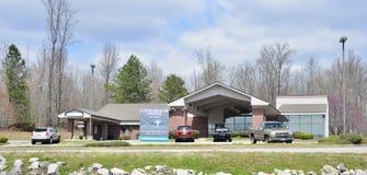 Construção do centro de saúde da fé, Jackson, Tennessee imagens de stock royalty free