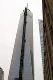 Construção do centro do comércio mundial Foto de Stock