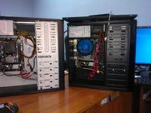 Construção do computador Fotografia de Stock