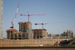 Construção do condomínio Imagem de Stock Royalty Free