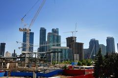 Construção do condomínio Foto de Stock