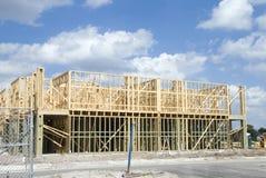 Construção do condomínio Fotos de Stock Royalty Free