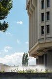 A construção do Conselho Estatal da república de Crimeia em S Foto de Stock
