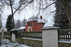 Construção do crematório no tuttlingen foto de stock royalty free