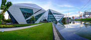 Construção do diamante dos BU na universidade de Banguecoque Foto de Stock Royalty Free
