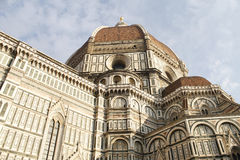 Construção do domo em Florençe, Itália Fotos de Stock