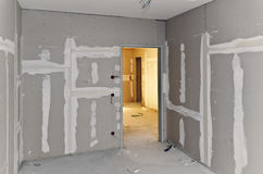 Construção do Drywall Fotos de Stock