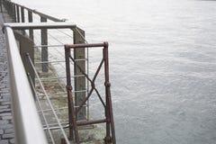 Construção do enbankment fotografia de stock royalty free