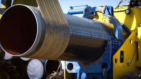 Construção do encanamento Construção do local Construção miliampère fotos de stock