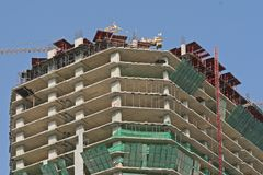 Construção do escritório Imagens de Stock
