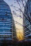 Construção do escritório ou do hotel, Pequim Fotos de Stock Royalty Free