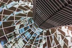 Construção do espelho no Bundestag Imagens de Stock Royalty Free
