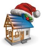 Construção do feriado de inverno Fotos de Stock Royalty Free