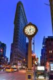 Construção do ferro de passar roupa e pulso de disparo de Fifth Avenue Imagem de Stock Royalty Free
