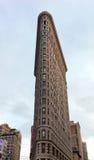 Construção do ferro de passar roupa em Manhattan, NYC Fotografia de Stock Royalty Free