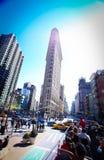 A construção do ferro de passar roupa em New York Fotos de Stock Royalty Free