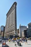 Construção do ferro de passar roupa em New York City Fotos de Stock Royalty Free
