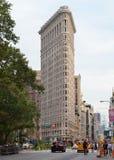 Construção do ferro de passar roupa em NYC Imagens de Stock