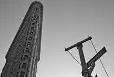 Construção do ferro de passar roupa, New York City Fotografia de Stock Royalty Free