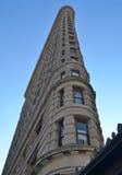 Construção do ferro de passar roupa, New York City Fotos de Stock Royalty Free