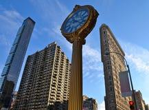 Construção do ferro de passar roupa, NYC, EUA Imagem de Stock Royalty Free