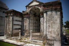 Construção do gravesite de Nova Orleães Fotos de Stock Royalty Free