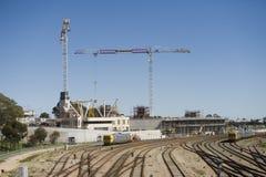 Construção do hospital Imagem de Stock