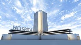 Construção do hospital Fotografia de Stock