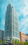 Construção do hotel de Jw Marriott Fotos de Stock Royalty Free