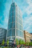 Construção do hotel de Jw Marriott Foto de Stock