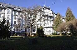 Construção do hotel do palácio do recurso de Sinaia em Romênia imagem de stock royalty free
