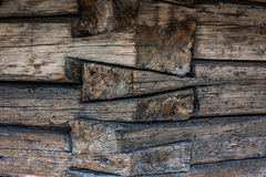 A construção do log Foto de Stock