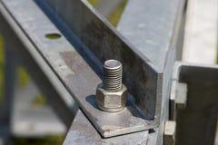 Construção do metal Fotografia de Stock Royalty Free