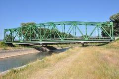 Construção do metal da estrada de ferro Foto de Stock