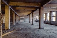 Construção do mineiro-Crowell - Springfield, Ohio fotografia de stock