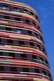 Construção do ministério do desenvolvimento urbano e do ambiente Wilhelmsburg, Hamburgo Em junho de 2014 Imagens de Stock Royalty Free