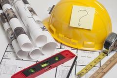 Construção do modelo da casa Imagens de Stock