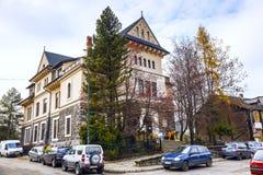 Construção do museu de Tatra em Zakopane Imagem de Stock Royalty Free