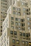 Construção do Nova-iorquino em Manhattan Foto de Stock