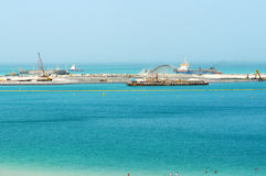 A construção do olho de Dubai de 210 medidores Foto de Stock