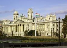Construção do parlamento de Budapest Fotos de Stock Royalty Free
