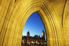 Construção do parlamento de Canadá Fotografia de Stock Royalty Free
