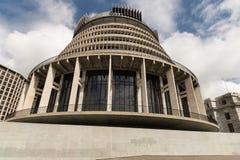 Construção do parlamento de Nova Zelândia Fotos de Stock